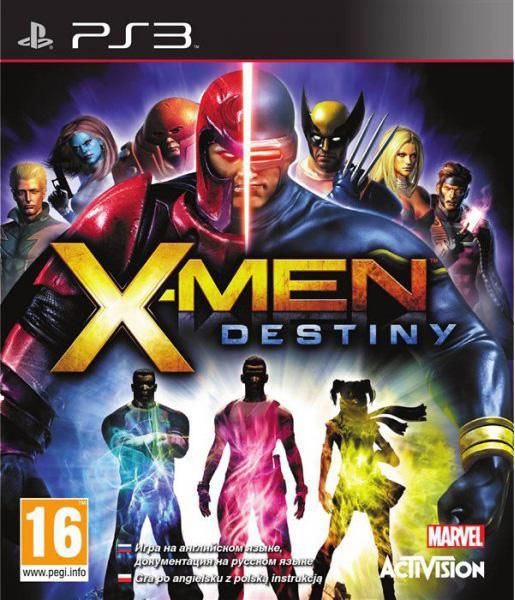 Игра SONY X-Men: Destiny для  PlayStation3 Rus (документация)