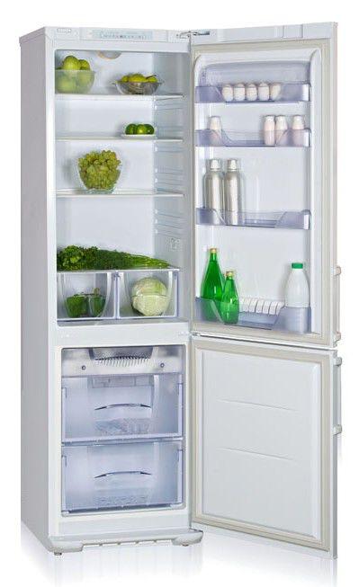 Холодильник БИРЮСА 144L,  двухкамерный,  белый