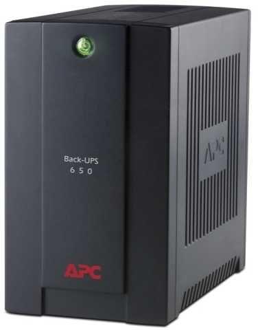 Источник бесперебойного питания APC Back-UPS BX650CI-RS,  650ВA