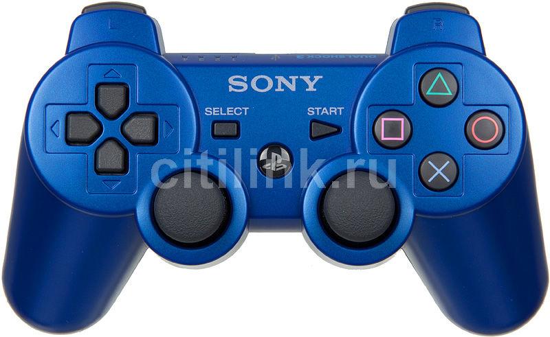 Беспроводной контроллер SONY Dualshock 3, для  PlayStation 3, синий [ps719118879]