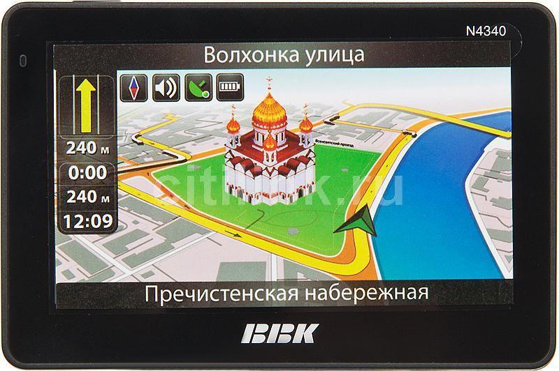 GPS навигатор BBK N4340,  4.3