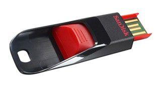 Флешка USB SANDISK Cruzer Edge 4Гб, USB2.0, черный и фиолетовый [sdcz51e-004g-b35p]