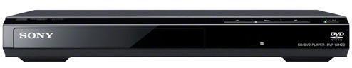 DVD-плеер SONY DVP-SR120,  черный