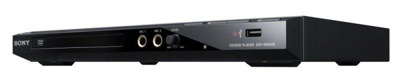 DVD-плеер SONY DVP-SR550K,  черный [dvpsr550kb.ru3]