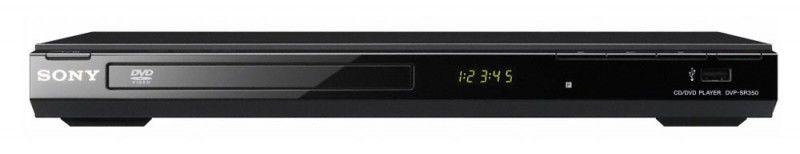 DVD-плеер SONY DVP-SR350,  черный
