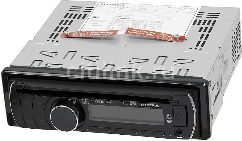 Автомагнитола SUPRA SCD-402U,  USB