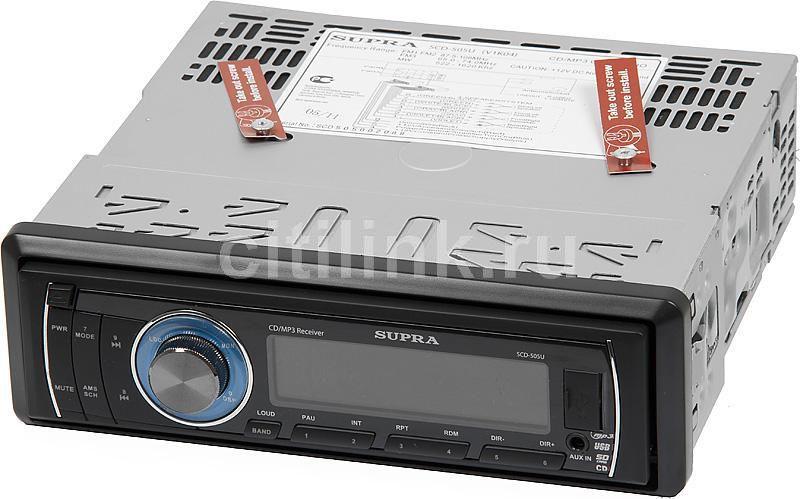 Автомагнитола SUPRA SCD-505U,  USB