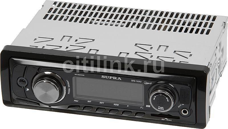 Автомагнитола SUPRA SFD-103U,  USB,  SD/MMC