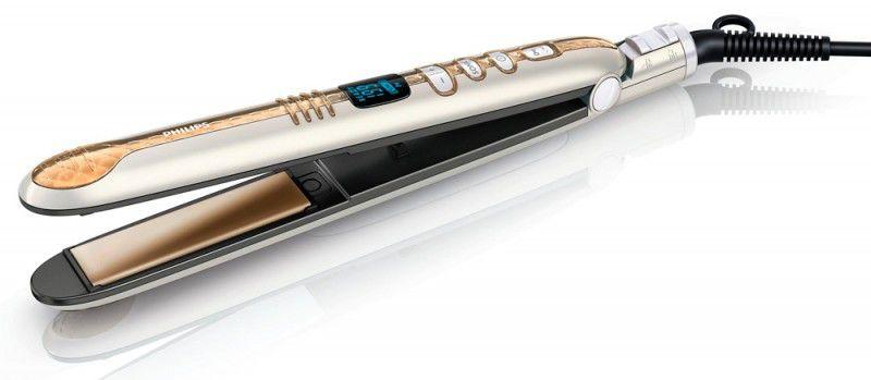 Выпрямитель для волос PHILIPS HP8362,  золотистый и белый [hp8362/00]
