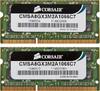 Модуль памяти CORSAIR CMSA8GX3M2A1066C7 DDR3 -  2x 4Гб 1066, SO-DIMM,  Ret вид 1