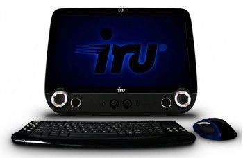 Моноблок iRU 301 21.5 Core i3-370/2Gb/500G/DVD-RW/Intel HD/Wi-Fi/CR/Cam/MeeGo/black
