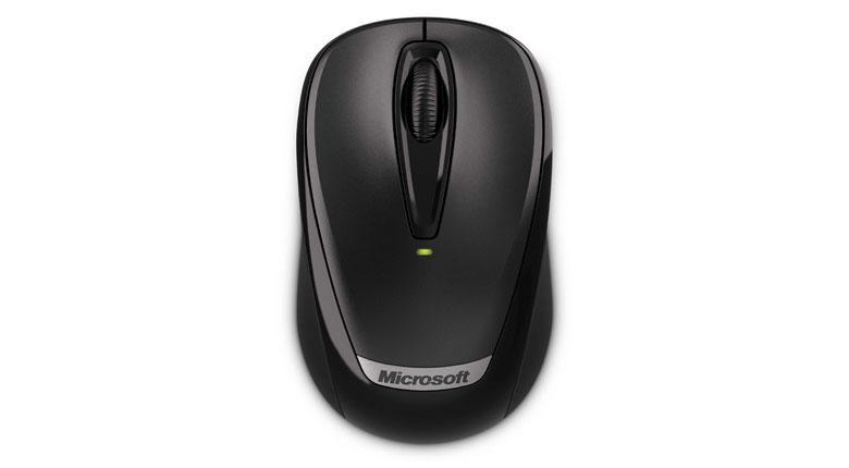 Мышь MICROSOFT 3000v2 оптическая беспроводная USB, черный [2ef-00004]