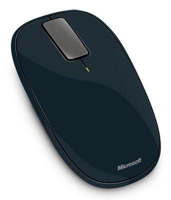 Мышь MICROSOFT Explorer Touch оптическая беспроводная USB, серый [u5k-00014]