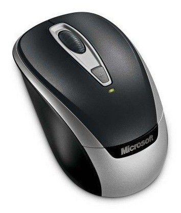 Мышь MICROSOFT 3000v2 оптическая беспроводная USB, серый [2ef-00020]
