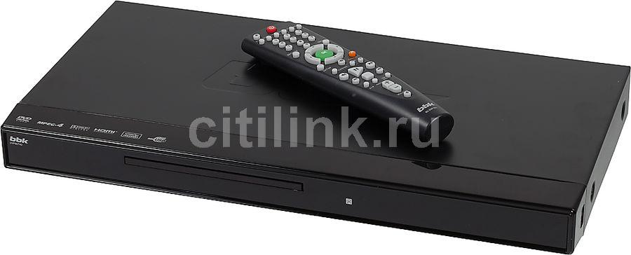 DVD-плеер BBK DVP967HD,  черный,  диск 500 песен [(dvd) player dvp967hd+д500 чер]