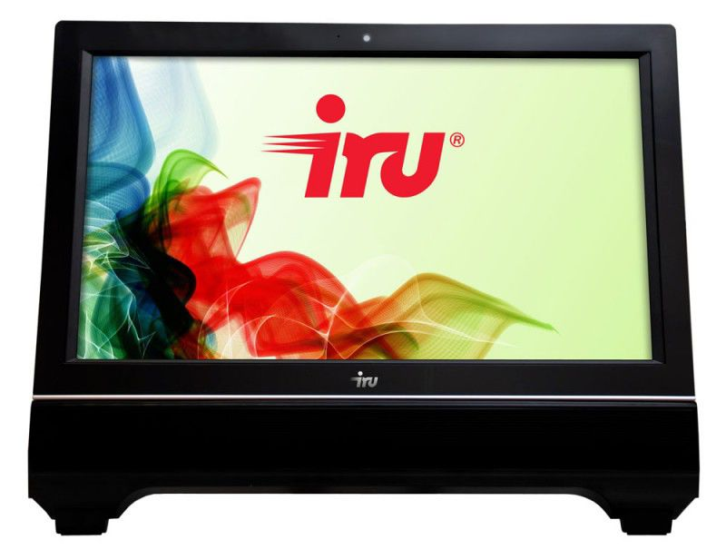 Моноблок IRU AIO 302, Intel Pentium G620, 2Гб, 320Гб, Intel HD Graphics, DVD-RW, Windows 7 Home Basic, черный