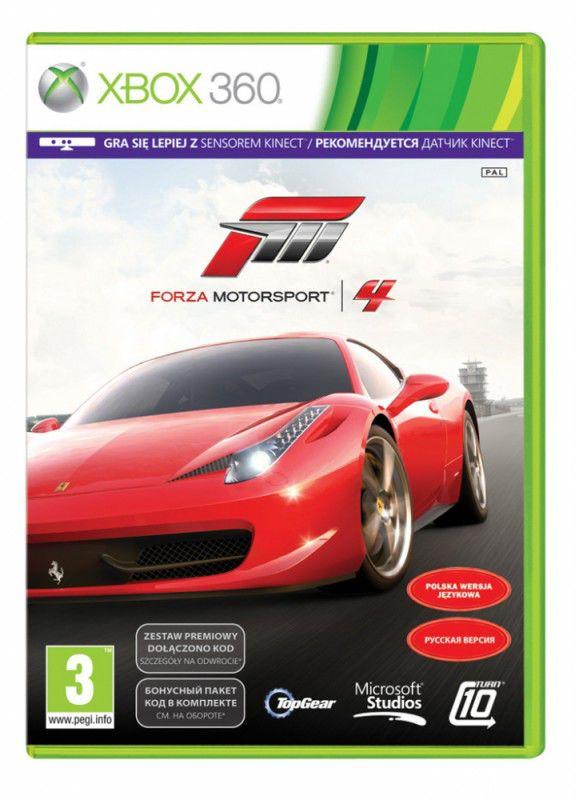 Игра MICROSOFT Forza Motorsport 4 для  Xbox360 Eng