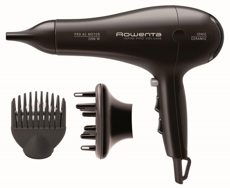 Фен ROWENTA CV8655, 2200Вт, темно-коричневый