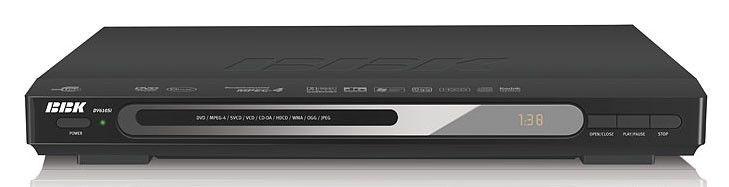 DVD-плеер BBK DV610SI,  черный,  диск 2000 песен