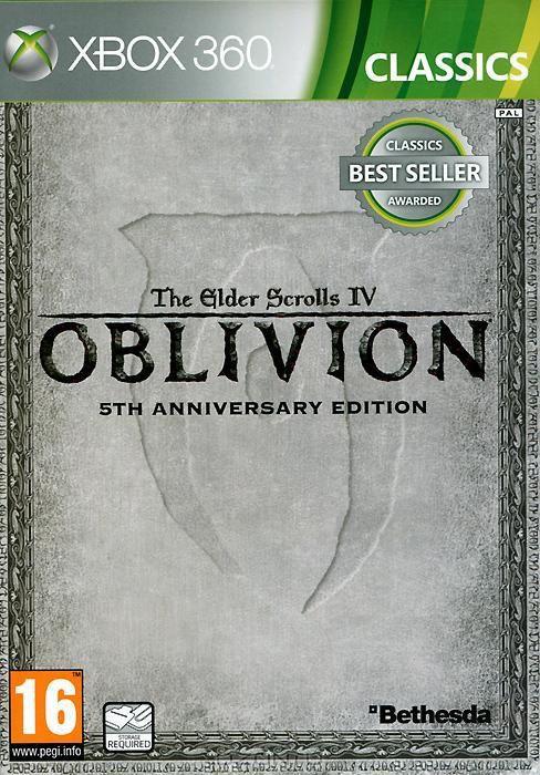 Игра SOFT CLUB The Elder Scrolls IV: Oblivion 5th Anniversary Edition для  Xbox360 Eng