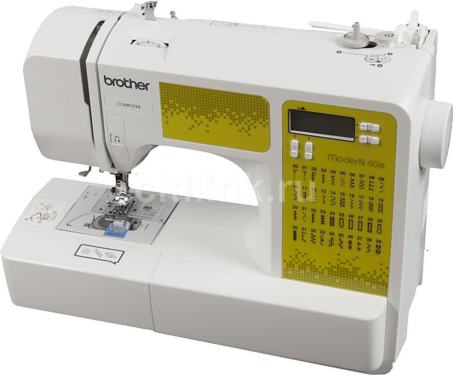 Швейная машина BROTHER ModerN 40E белый