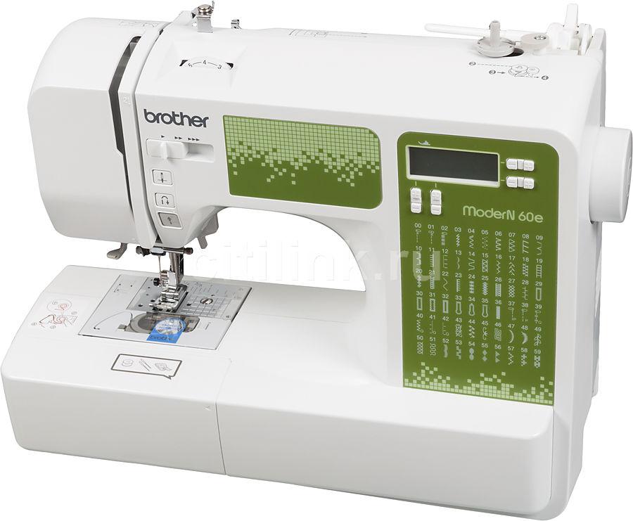 Швейная машина BROTHER ModerN 60E белый