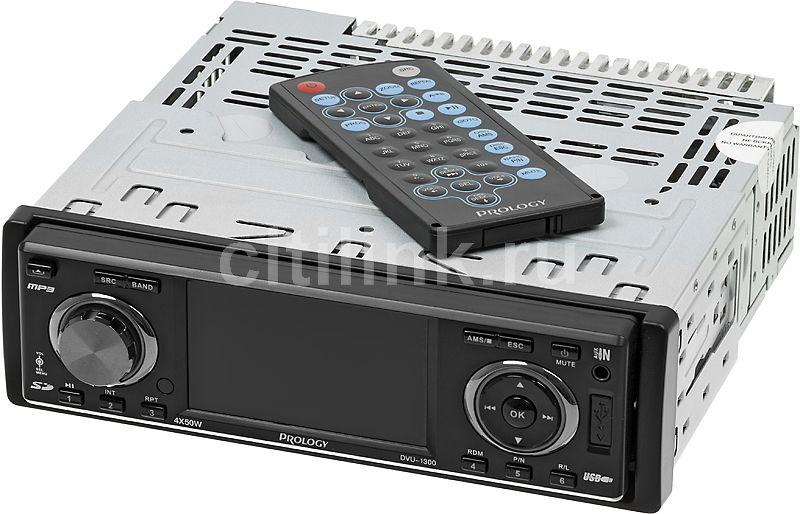 Автомагнитола PROLOGY DVU-1300,  USB,  SD