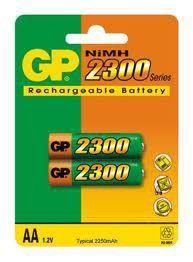 Аккумулятор GP 230AAHC-CR2,  1 шт. AA,  2300мAч