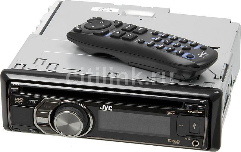 Автомагнитола JVC KD-DV5507,  USB