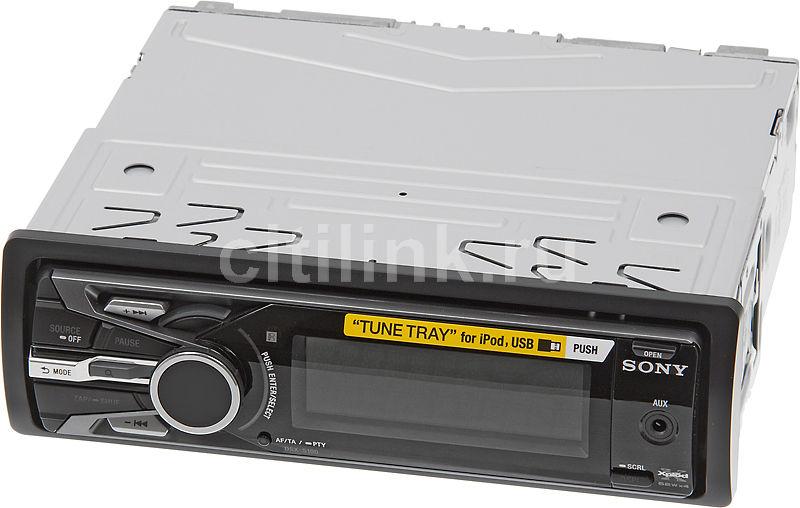 Автомагнитола SONY DSX-S100,  USB