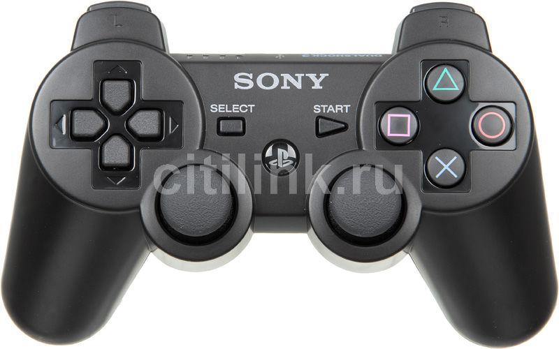 Беспроводной контроллер SONY Dualshock 3, для  PlayStation 3, черный [ps719174097]