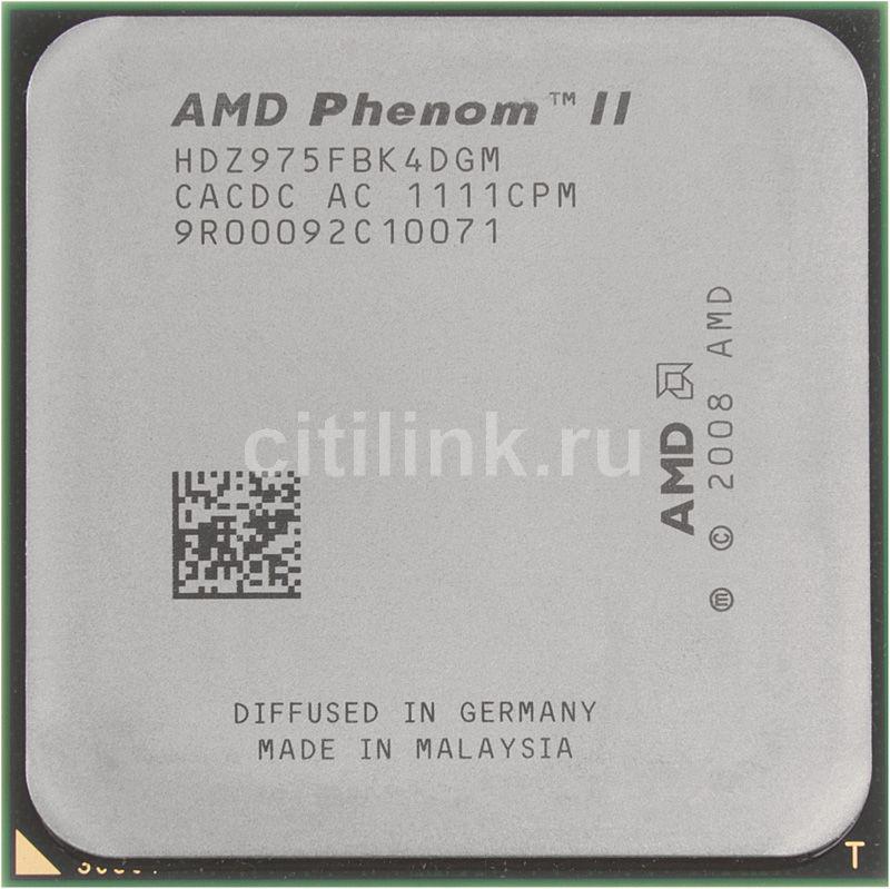 Процессор AMD Phenom II X4 975, SocketAM3 OEM [hdz975fbk4dgm]