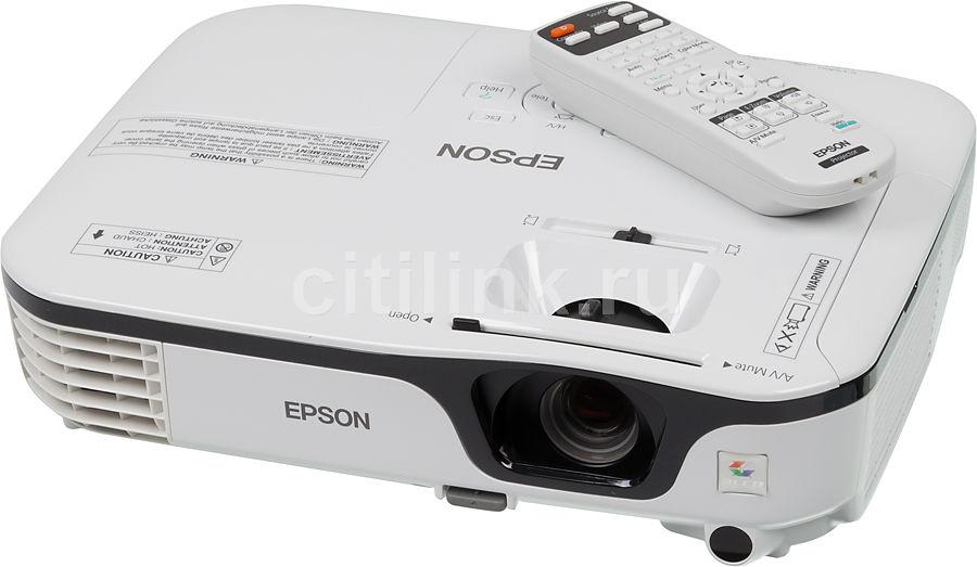 Проектор EPSON EB-S12 белый [v11h430040]