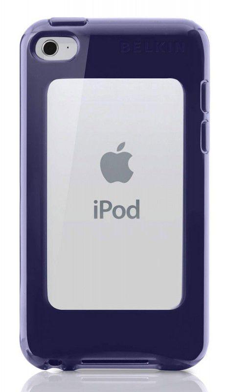 Чехол для iPod 4G Belkin Shield Eclipse темно синий F8Z647cwC01