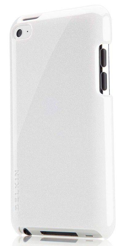 Чехол для iPod 4G Belkin Shield Micra Metallic белый F8Z762cwC01