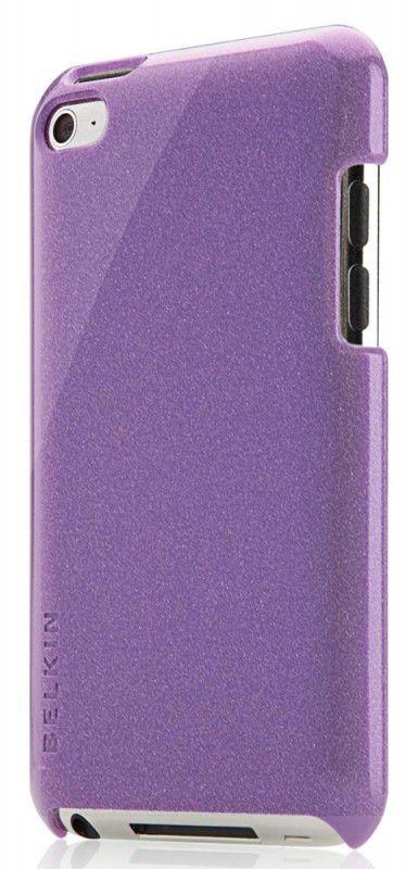 Чехол для iPod 4G Belkin Shield Micra Metallic фиолетовый F8Z762cwC02