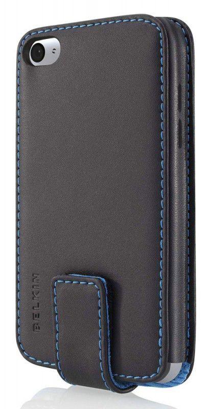 Чехол для iPod 4G Belkin кожа черный F8Z687cwBKB