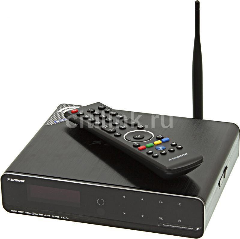 Медиаплеер DIGMA HDMP-651,  черный
