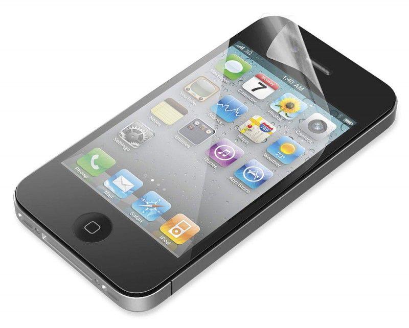 Защитная пленка BELKIN F8Z678cw  для Apple iPhone 4,  прозрачная, 3 шт