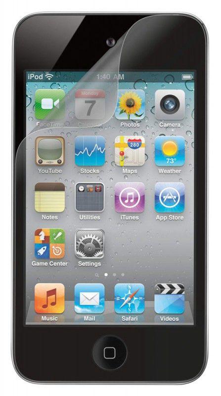 Пленка защитная Belkin для iPod 4G антиблик 3шт. F8Z686cw3
