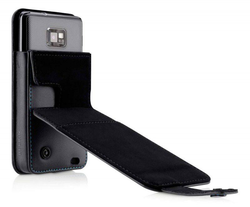 Чехол (флип-кейс) BELKIN Folio F8M130ebC00, для Samsung Galaxy S II, черный