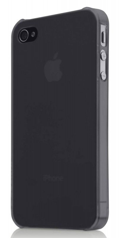 Чехол (клип-кейс) BELKIN F8Z891cwC00, для Apple iPhone 4, черный