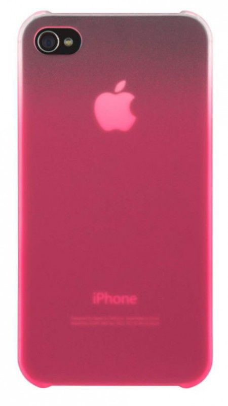 Чехол (клип-кейс) BELKIN F8Z892cwC00, для Apple iPhone 4, розовый