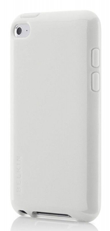 Чехол для iPod 4G Belkin Grip Vue Metallic белый F8Z658cwC01
