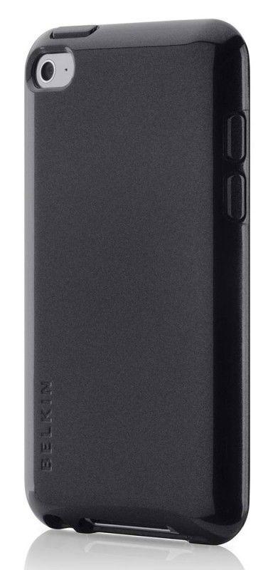 Чехол для iPod 4G Belkin Grip Vue Metallic черный F8Z658cwC00