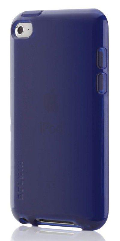 Чехол для iPod 4G Belkin Grip Vue Tint темно синий F8Z657cwC02