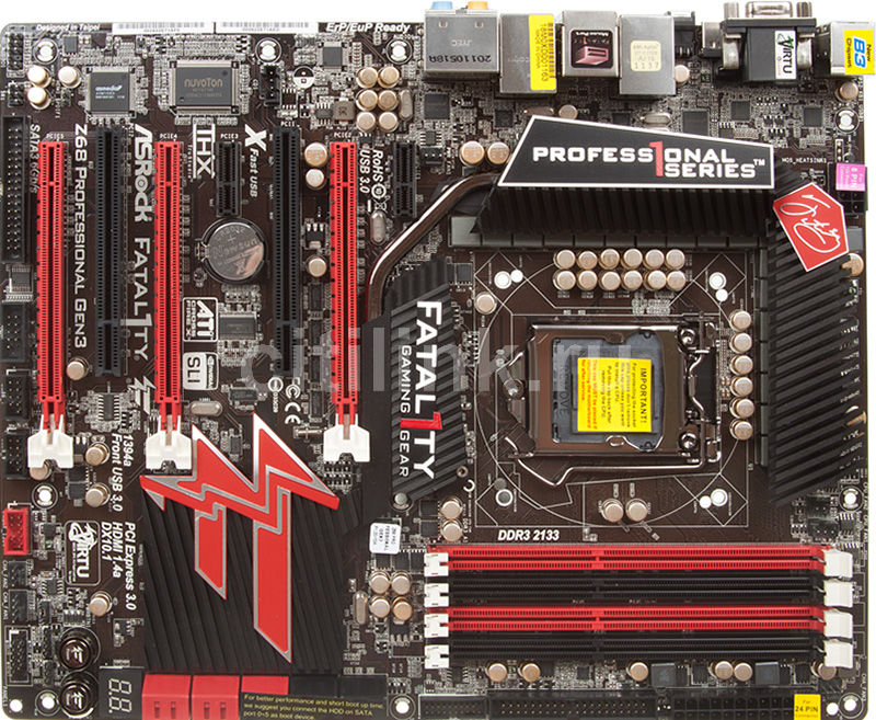 Asrock Fatal1ty Z68 Professional Gen3 Intel VGA Driver