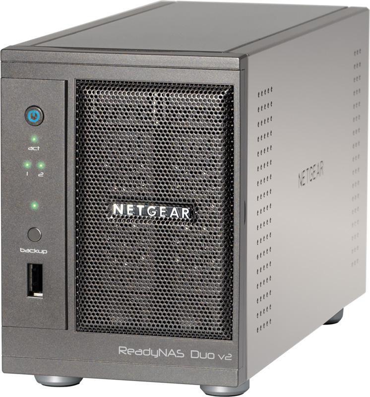 Сетевое хранилище NETGEAR RND2000-200EUS,  без дисков