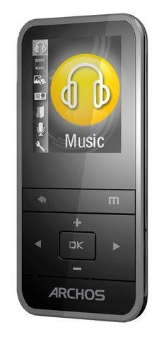 MP3 плеер ARCHOS 18C Vision flash 4Гб серый [501666]