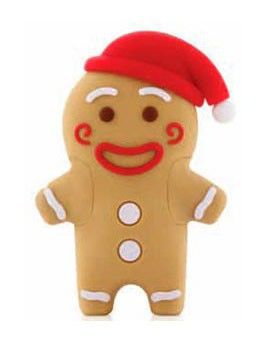 Флешка USB BONE Gingerman 4Гб, USB2.0, коричневый [pk110109-4lbr]